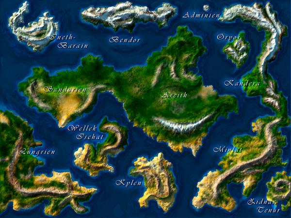 Die Karte von Aramoon